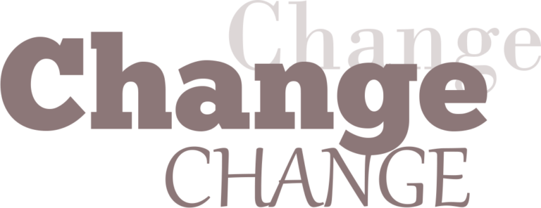 Change Exhibition Logo