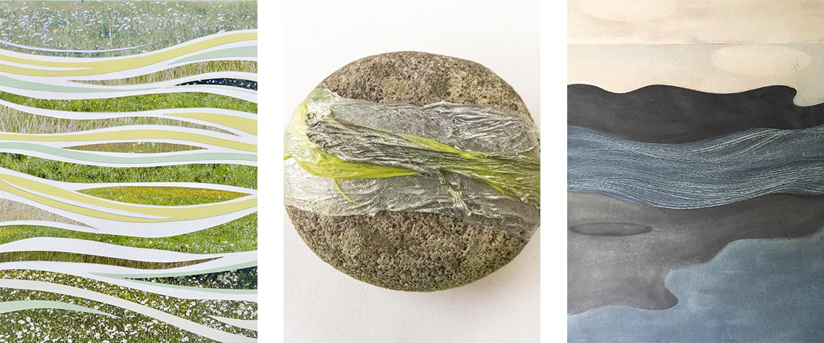 Change Matters - featured artwork by Lesley Roberts, Siân Martin and Pauline Lerry