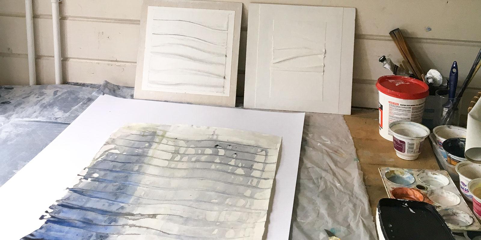 Pauline Lerry's studio